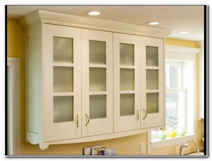 Frosted Glass Cabinet Door Panels