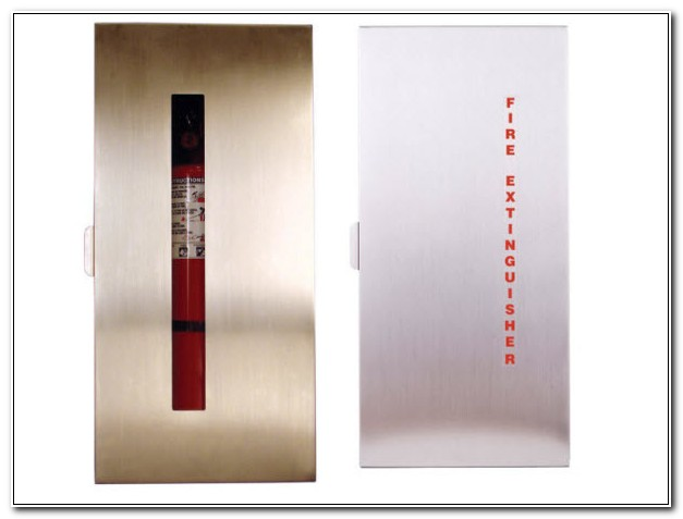 Fully Recessed Fire Extinguisher Cabinet