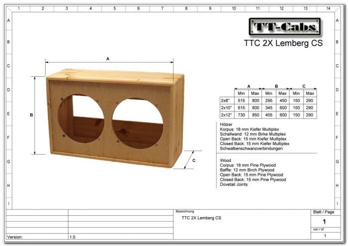 Guitar Speaker Cabinet Plans