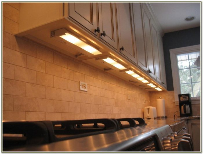 Hardwired Under Cabinet Lighting Fixtures