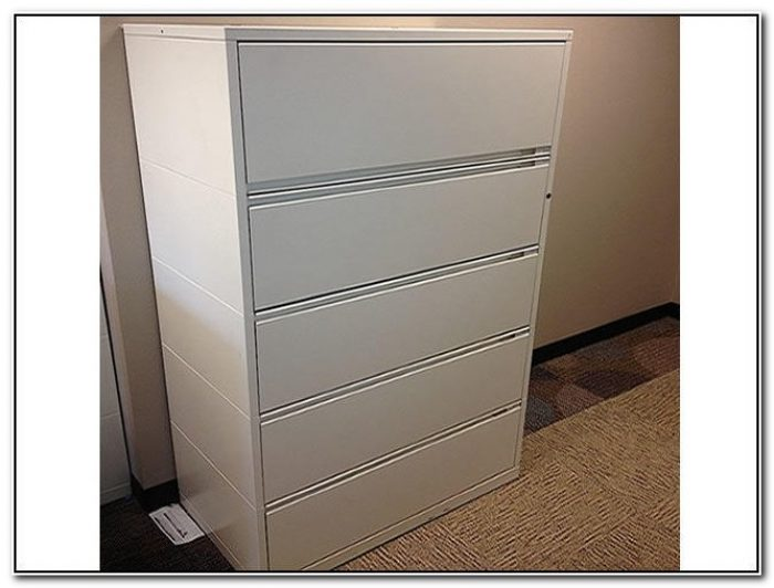 Herman Miller 4 Drawer Lateral File Cabinet