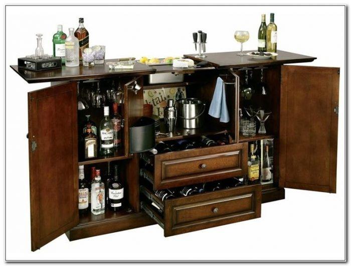 Hide A Bar Liquor Cabinet