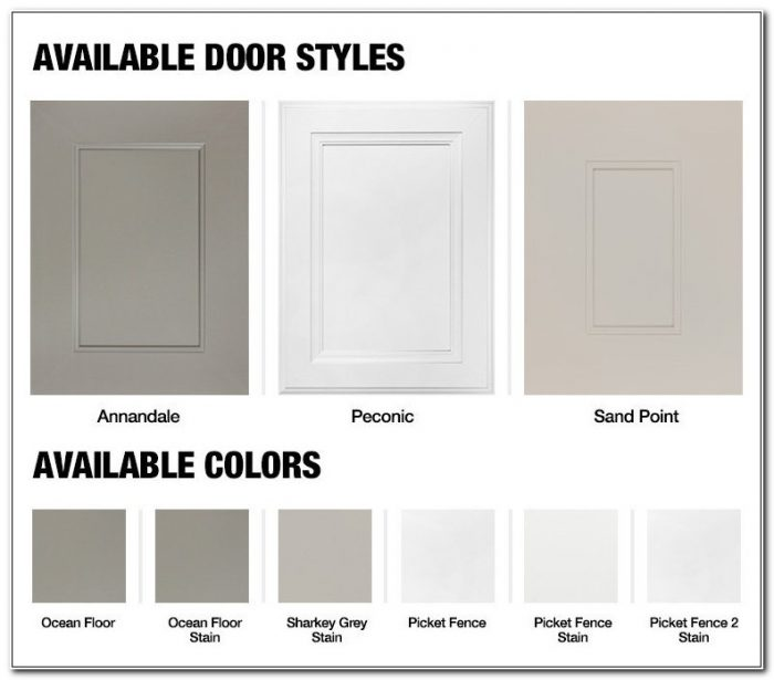 Home Depot Cabinet Refacing Choices