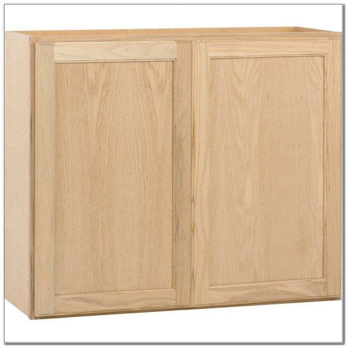 Home Depot Unfinished Oak Kitchen Cabinets