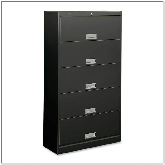 Hon 5 Drawer Vertical File Cabinet