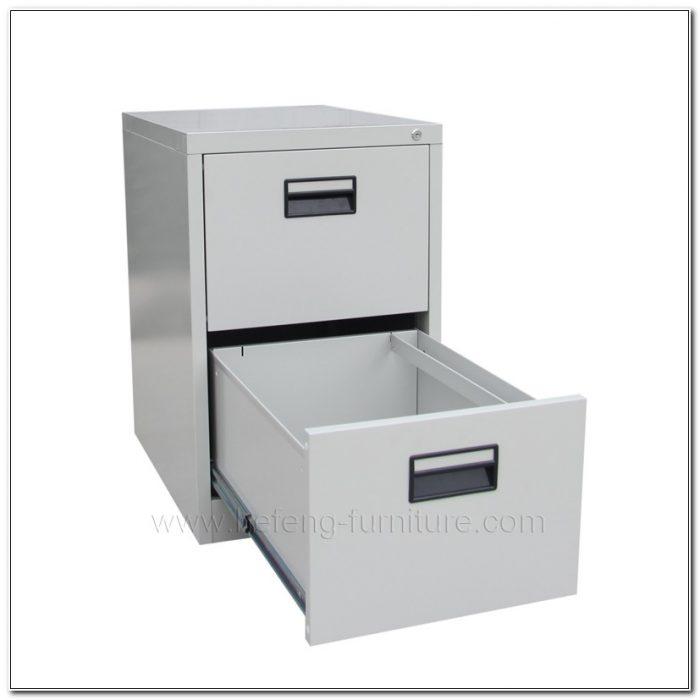 Hon Locking File Cabinet 2 Drawer