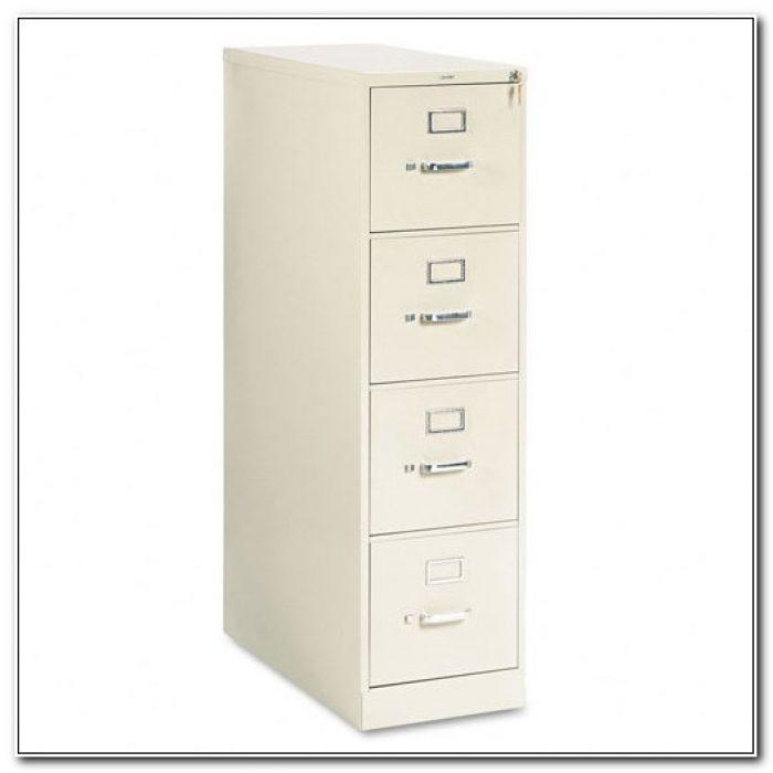 Hon Locking File Cabinet 4 Drawer
