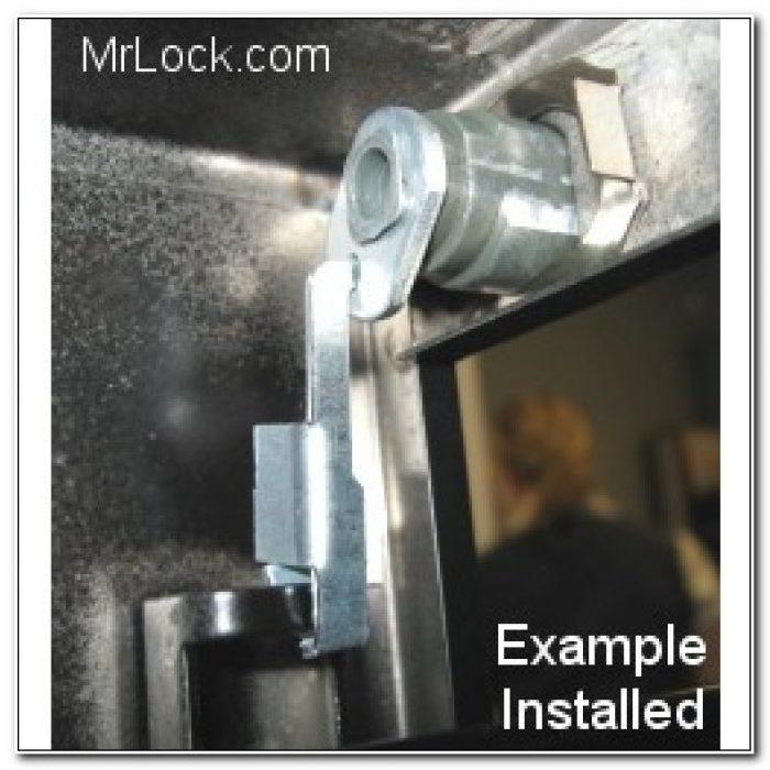 Hon Steel Lock Kit For Filing Cabinets