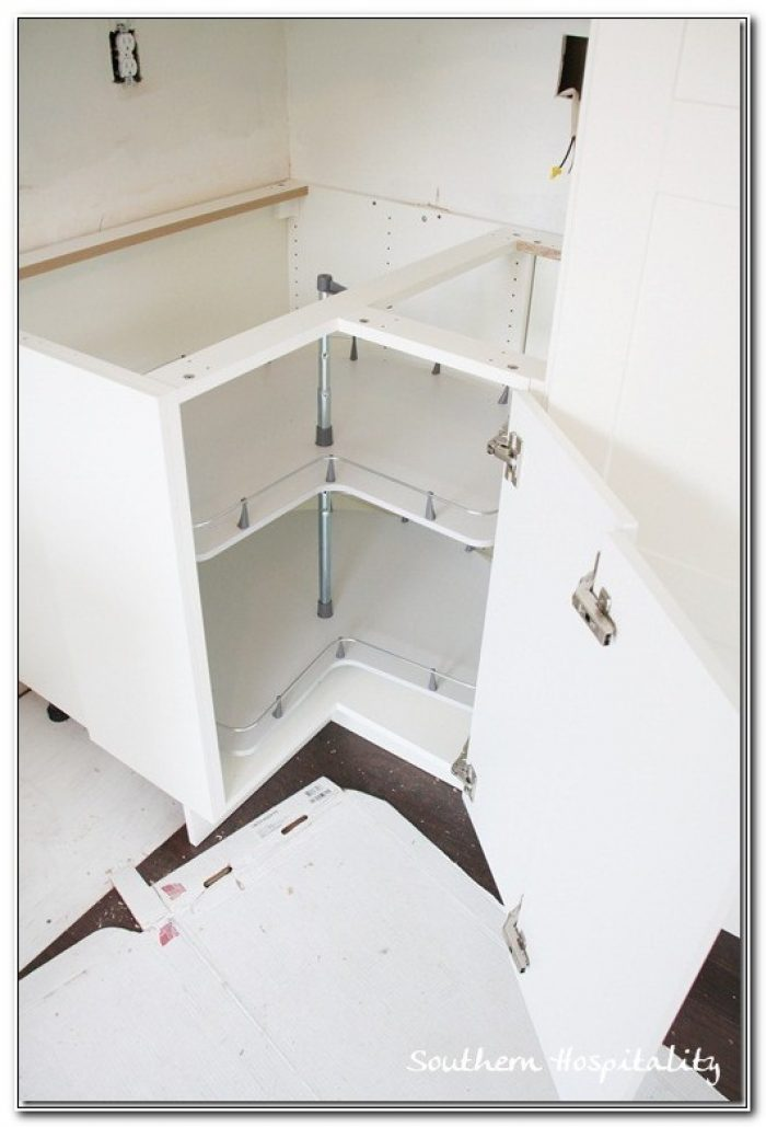 Ikea Corner Cabinet Lazy Susan