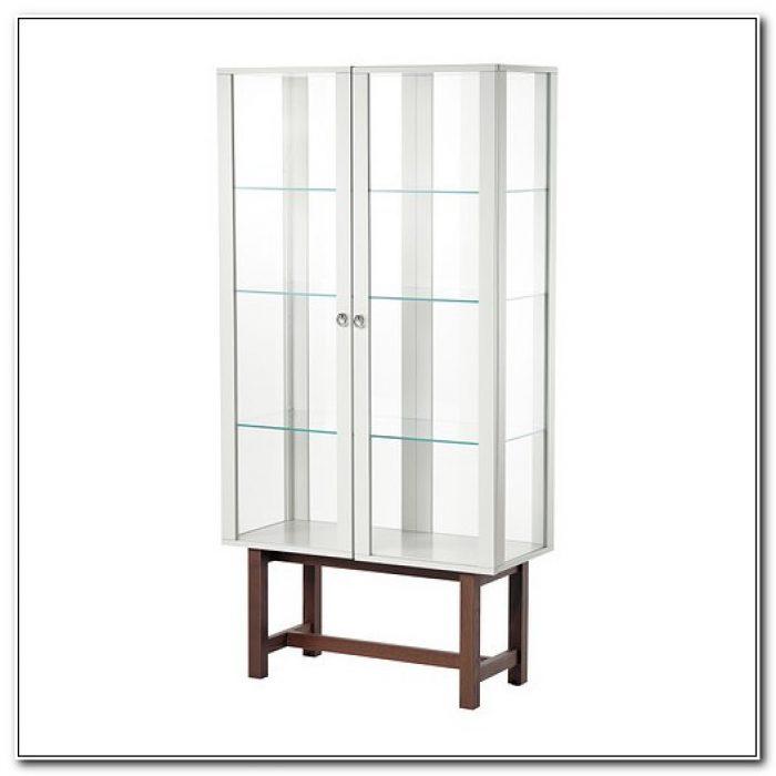 Ikea Glass Display Cabinet Ebay