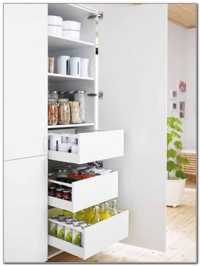 Ikea Kitchen Pantry Cabinets