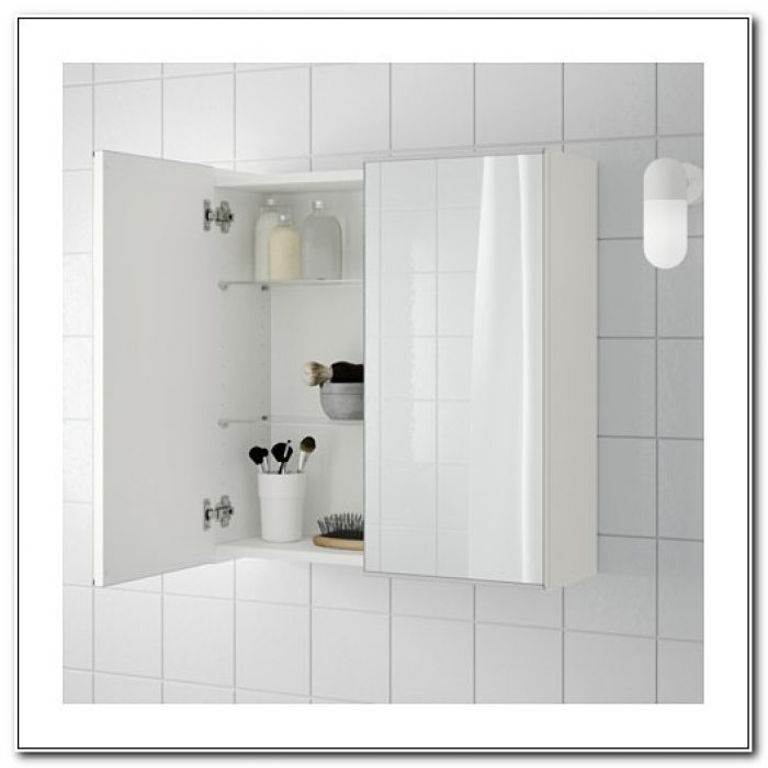 Ikea Lillangen Mirror Bathroom Cabinet