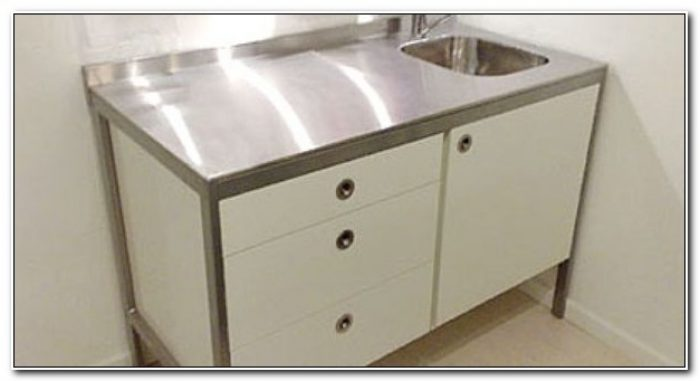 Ikea Stainless Steel Sink Cabinet
