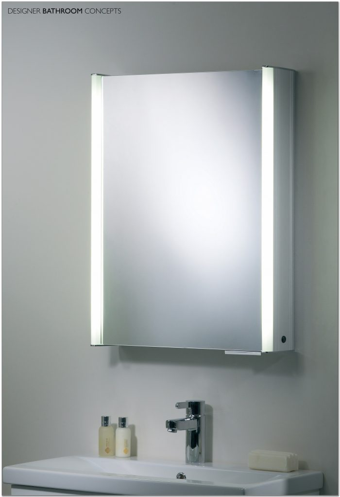 Illuminated Bathroom Mirror Cabinet Bq