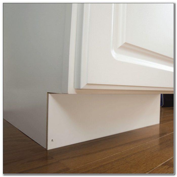 kitchen cabinet kick plate