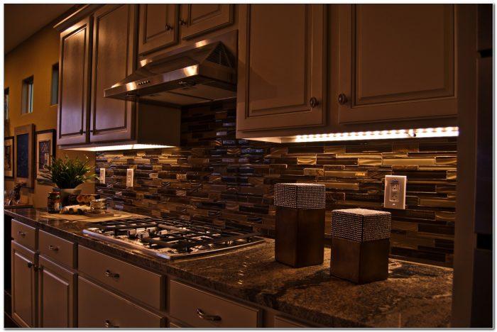 Installing Under Cabinet Led Lighting Kitchen