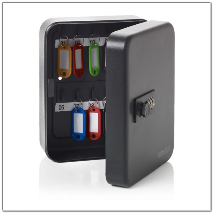 Key Box With Combination Lock