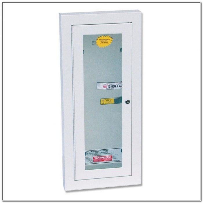 Kidde Recessed Fire Extinguisher Cabinet