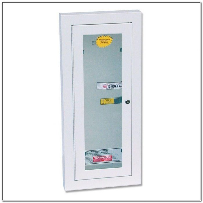 Kidde Semi Recessed Fire Extinguisher Cabinets