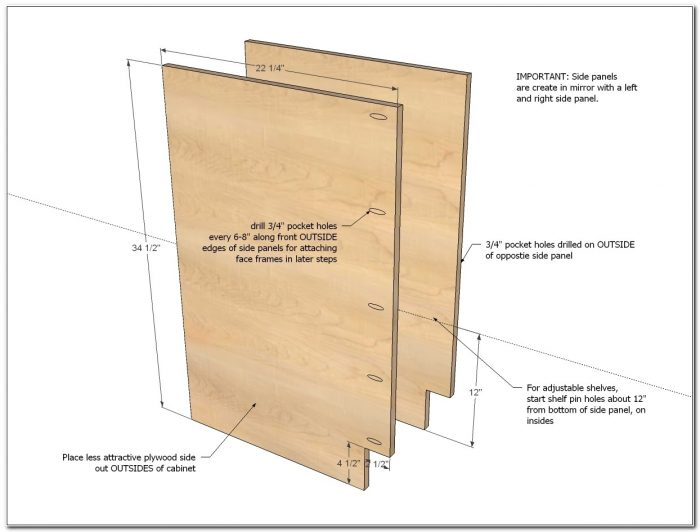 3 Drawer Kitchen Base Cabinet Dimensions - Cabinet : Home ...