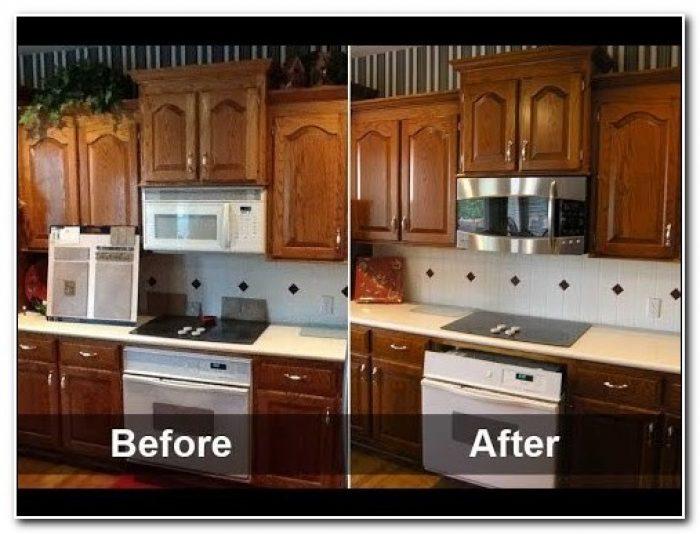 Kitchen Cabinet Refinishing Diy