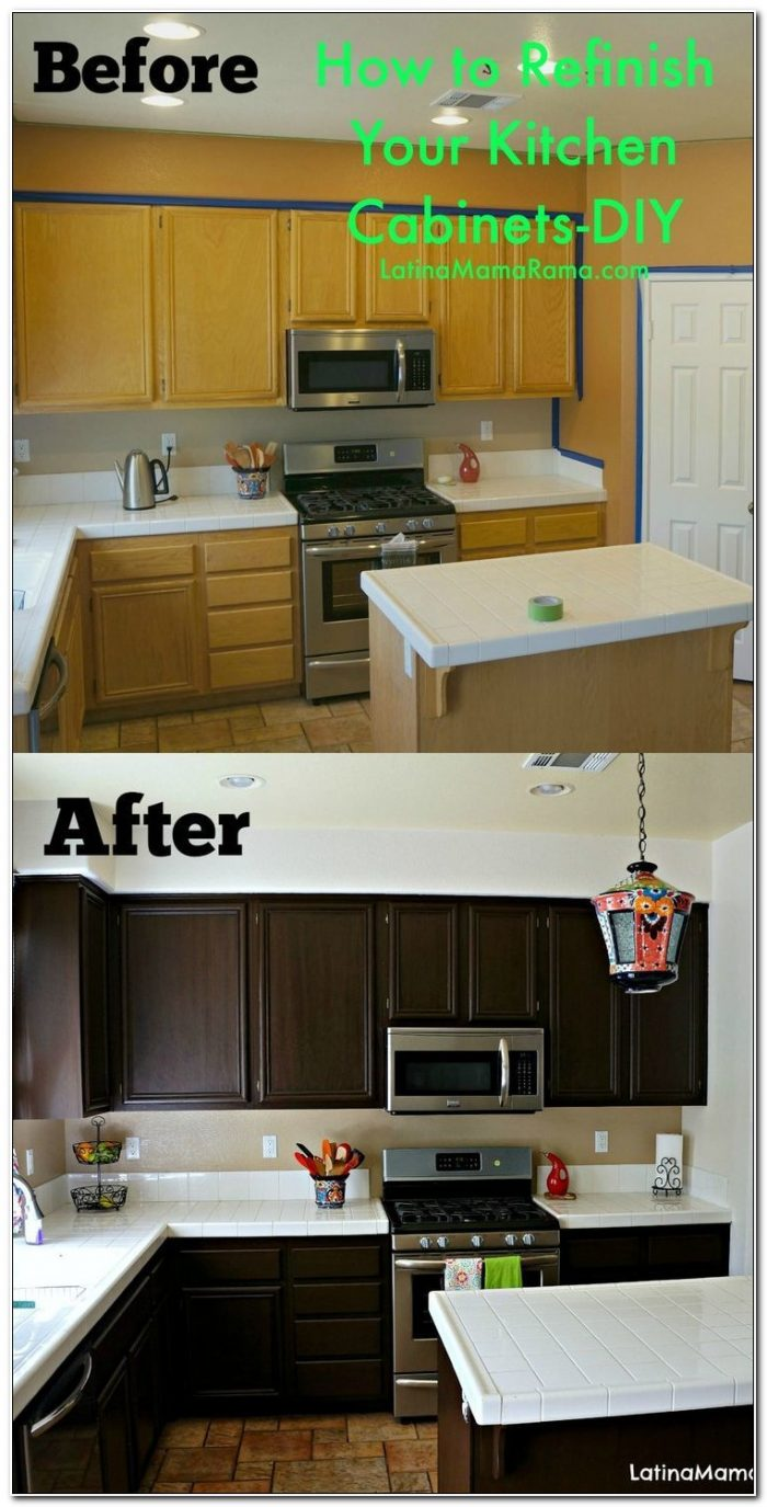 Kitchen Cabinet Refinishing Materials
