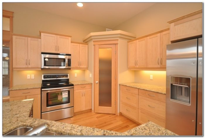 Kitchen Cabinets Corner Pantry