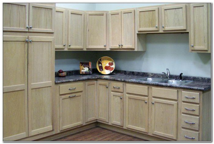 Kitchen Cabinets Unfinished Oak