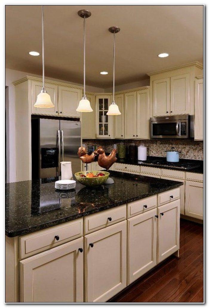 Kitchen Cabinets With Dark Countertops