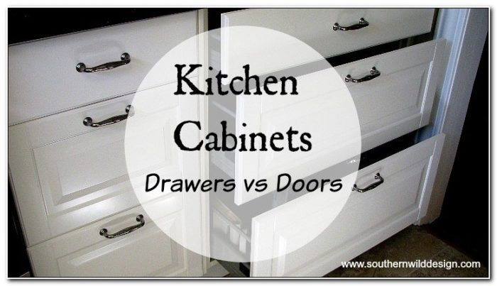 Kitchen Drawers Vs Cabinets