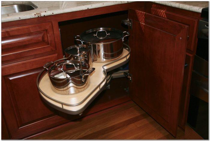 Kitchen Lazy Susan Corner Cabinet