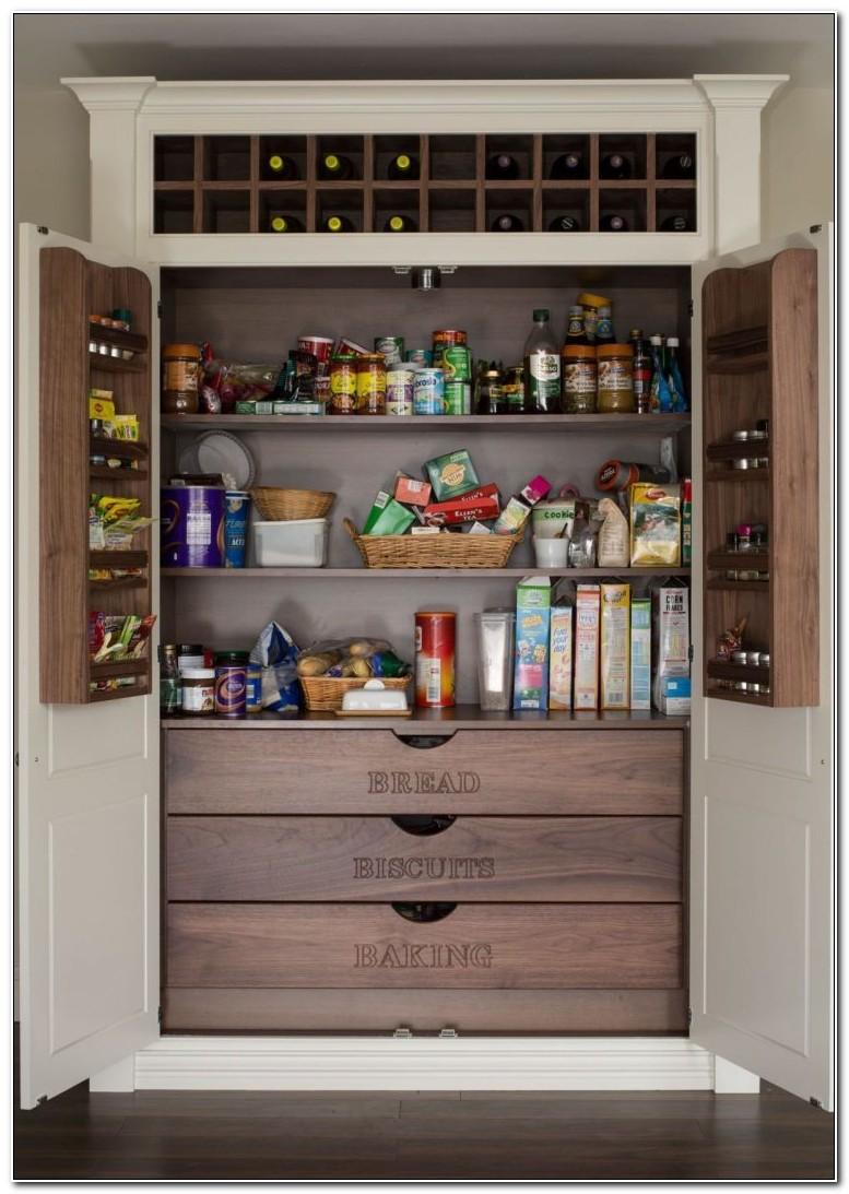 Kitchen Pantry Cabinet Design Ideas