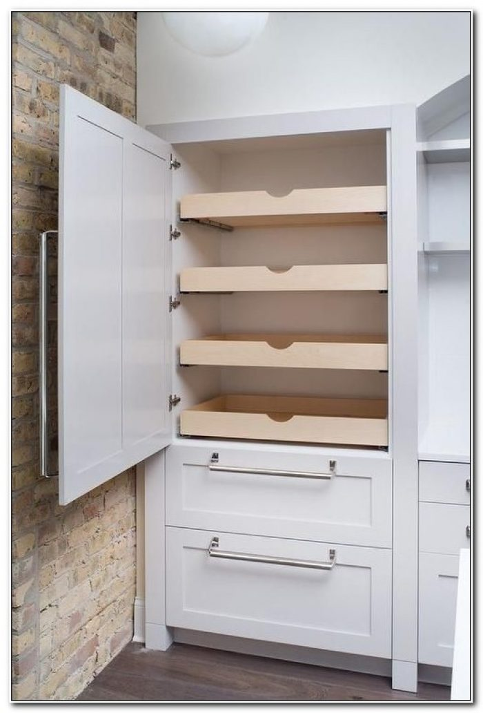 Kitchen Pantry Cabinet With Drawers