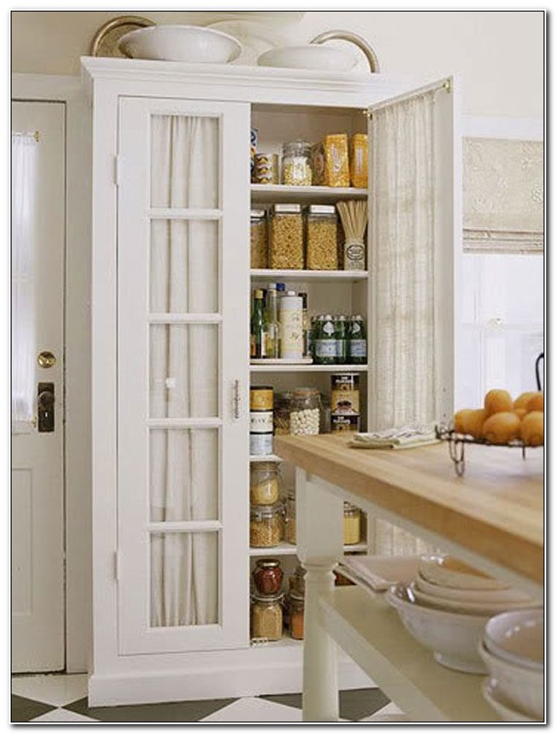 Kitchen Stand Alone Pantry Cabinets
