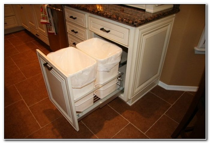 Kitchen Trash Cabinet Pull Out