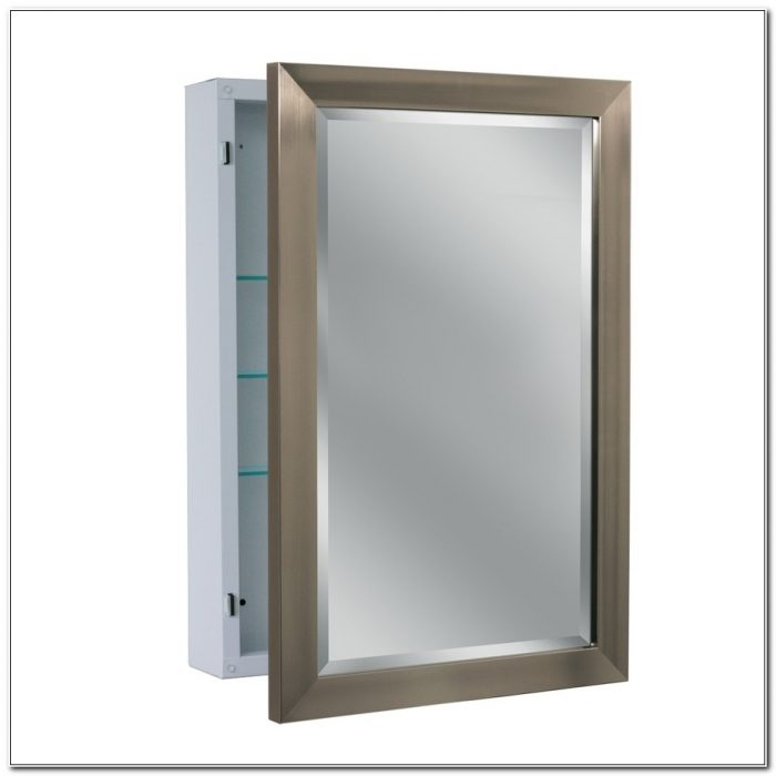Kohler Brushed Nickel Medicine Cabinet