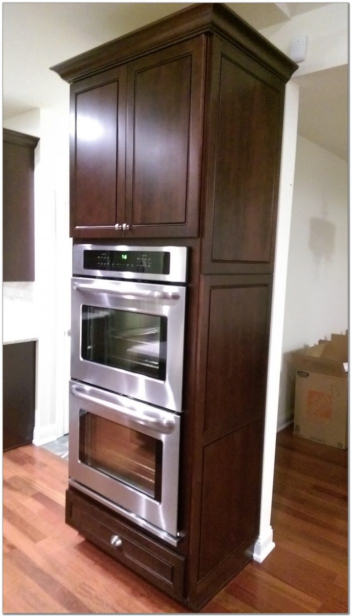 Kraftmaid Double Wall Oven Cabinet