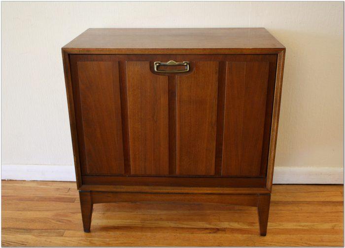Lane Mid Century Record Cabinet