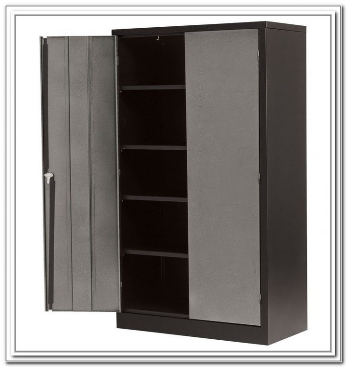 Large Storage Cabinets With Doors And Shelves