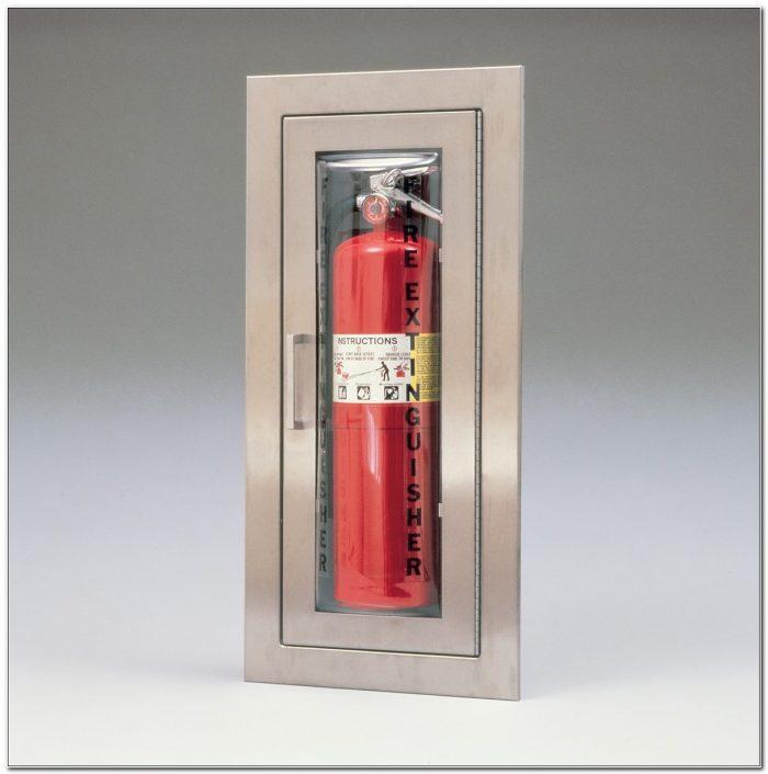 Larsen Cameo Fire Extinguisher Cabinets