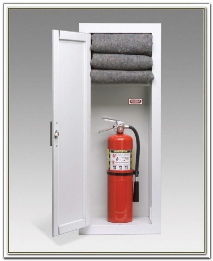 Larsen Fire Extinguisher Cabinet 2409 5r