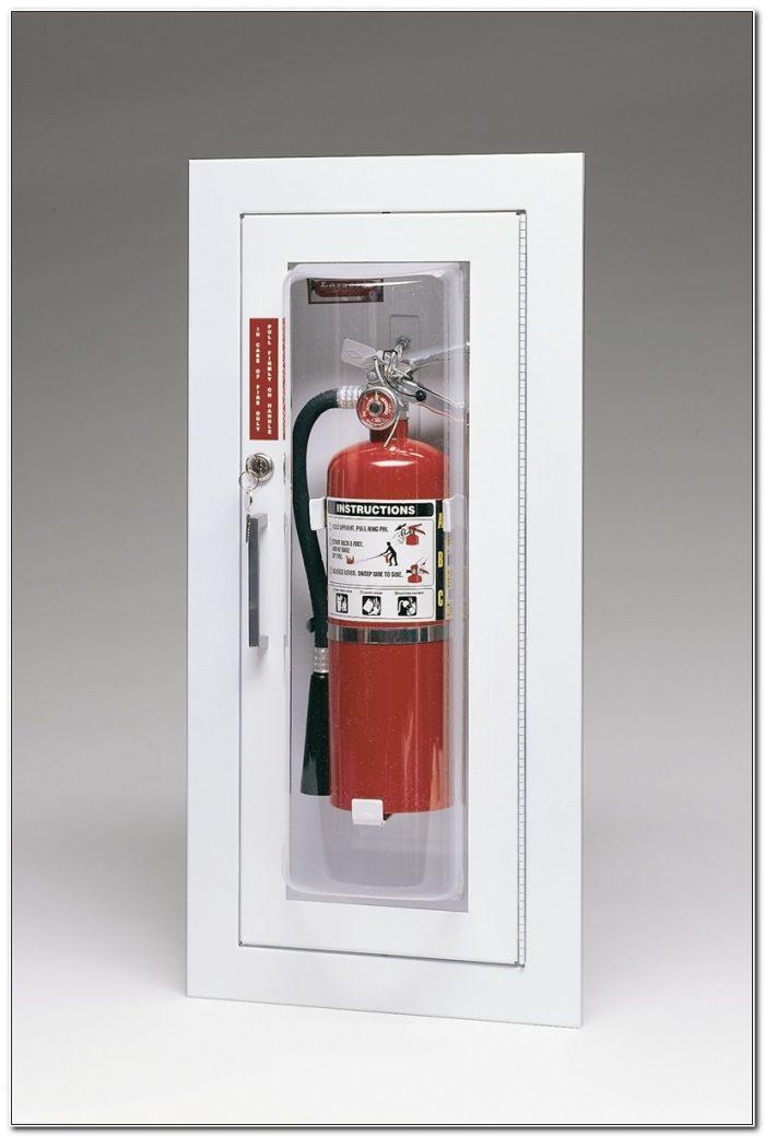 Larsen Fire Extinguisher Cabinets 2409 6r