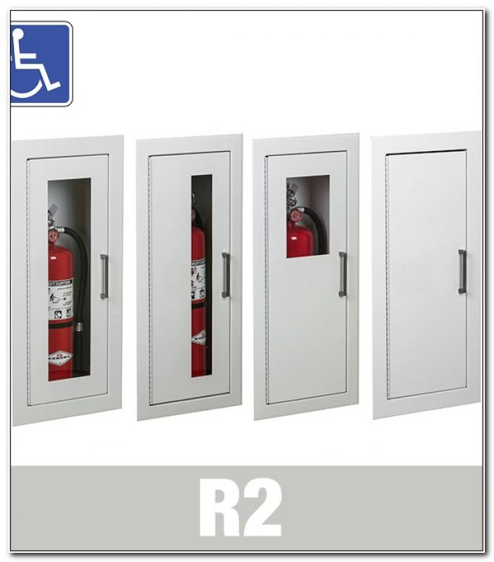 Larsen Fire Extinguisher Cabinets 2409 R2