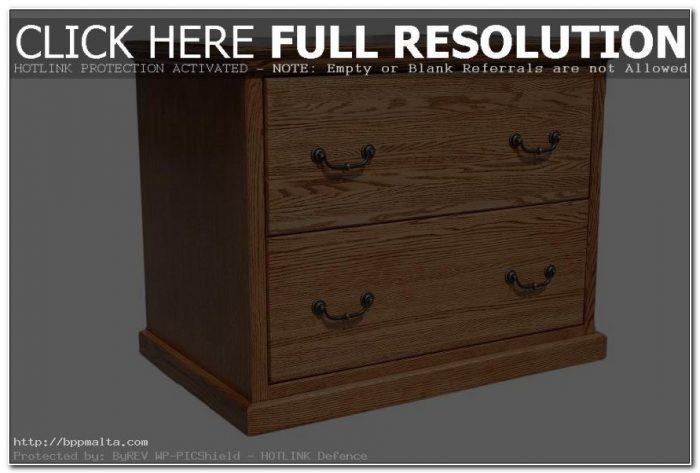Lateral File Cabinet Oak