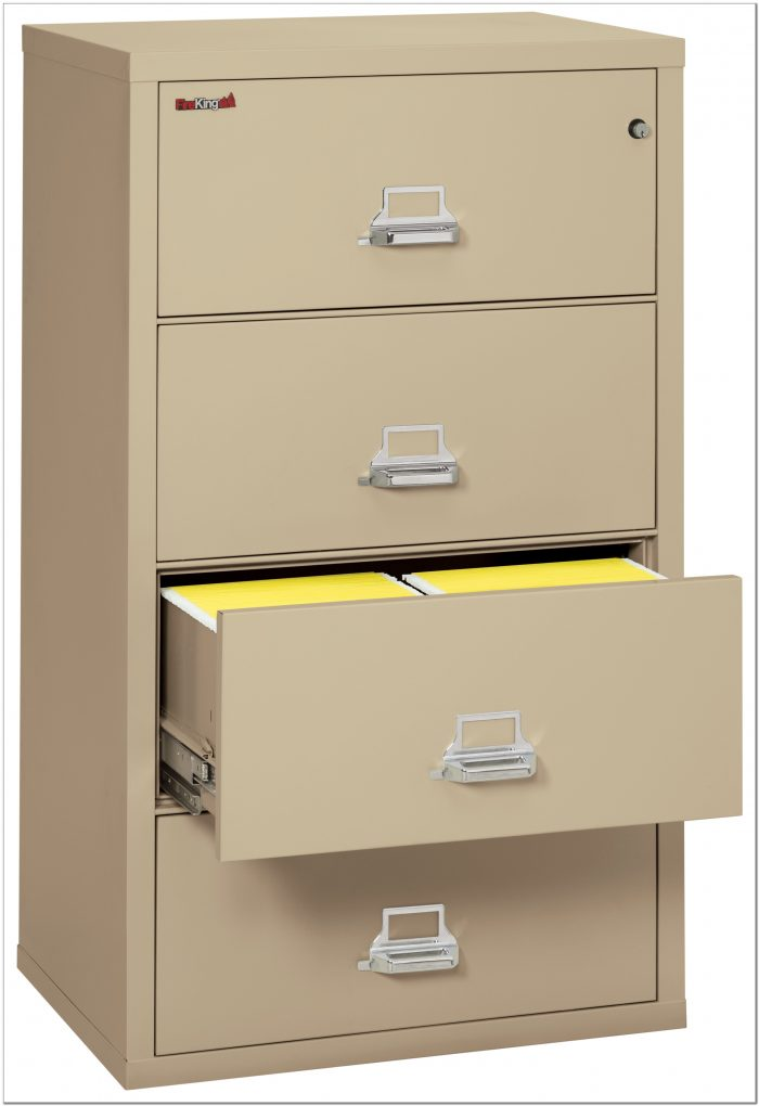 Lateral Fireproof File Cabinets
