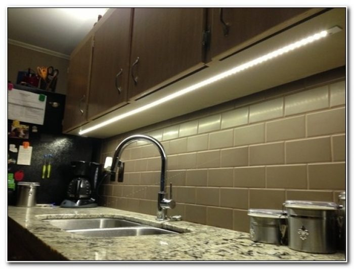 Led Tape Under Cabinet Lighting