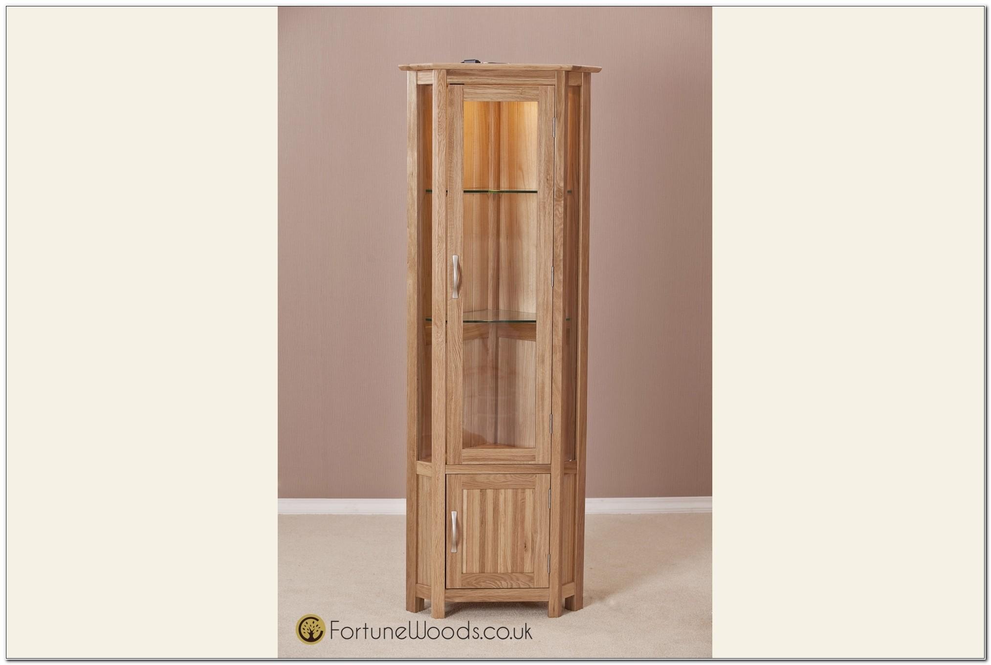 Light Oak Corner Cupboard Cabinet Home Design Ideas