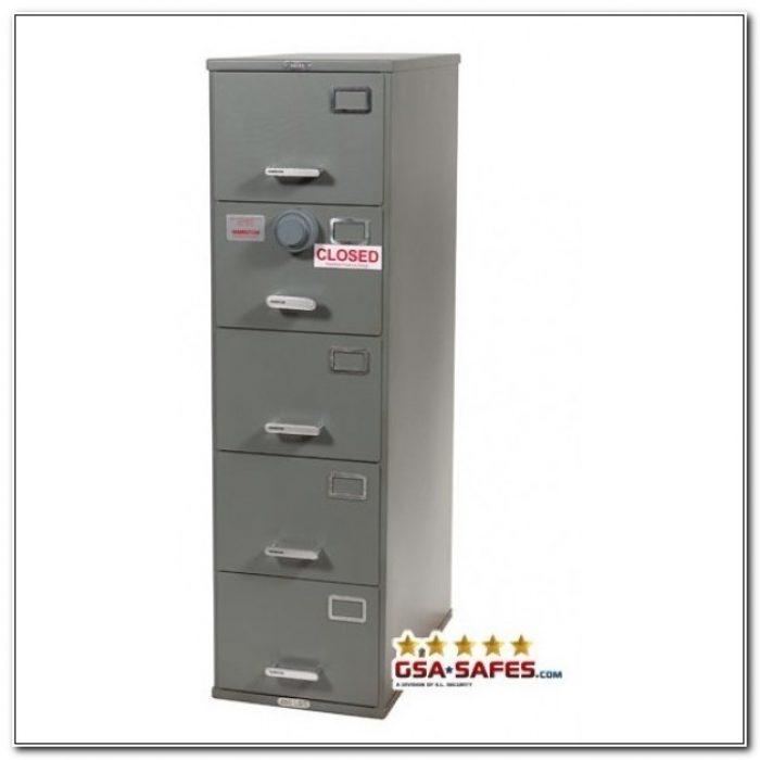 Locking File Cabinet 5 Drawer