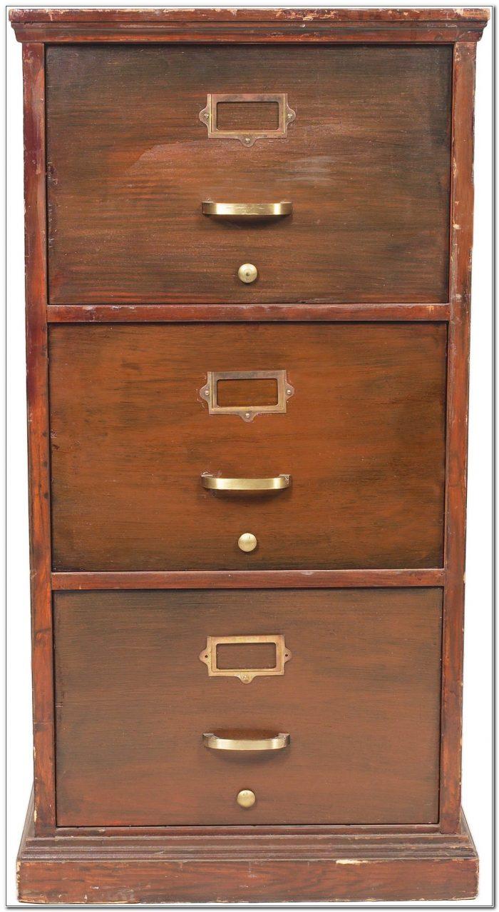 Locking Wood Filing Cabinets
