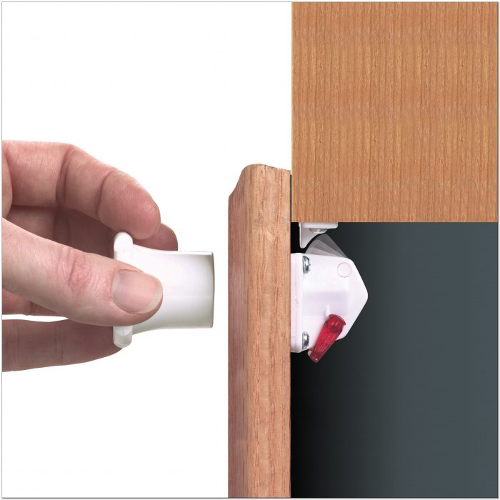 Magnetic Child Safety Latches For Cabinets
